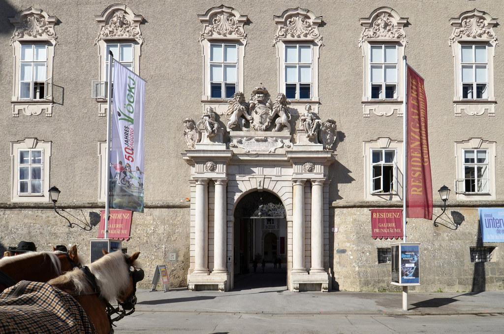 Ort der Festveranstaltung zu Salzburg 20.16: die Alte Residenz