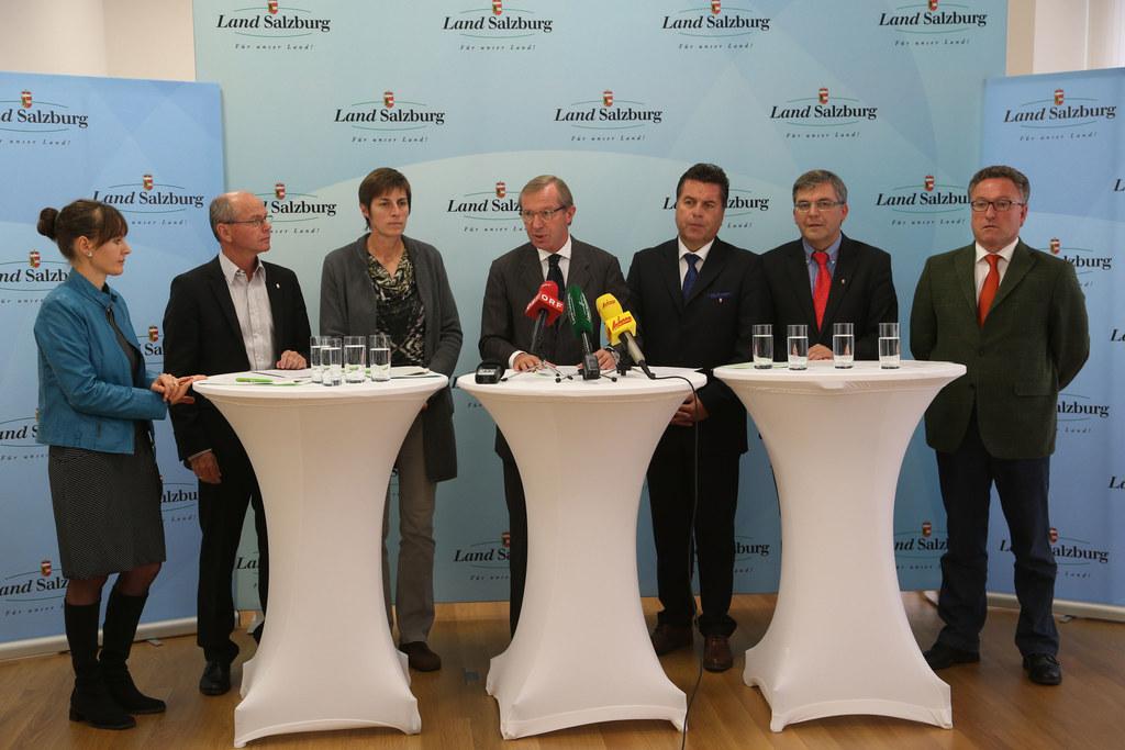 LR Mag. Martina Bertold, LHStv. Dr. Christian Stöckl, LHStv. Dr. Astrid Rössler,..