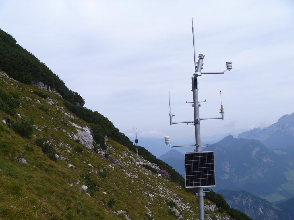 Meldestelle am Lahnerhorn in Weißbach
