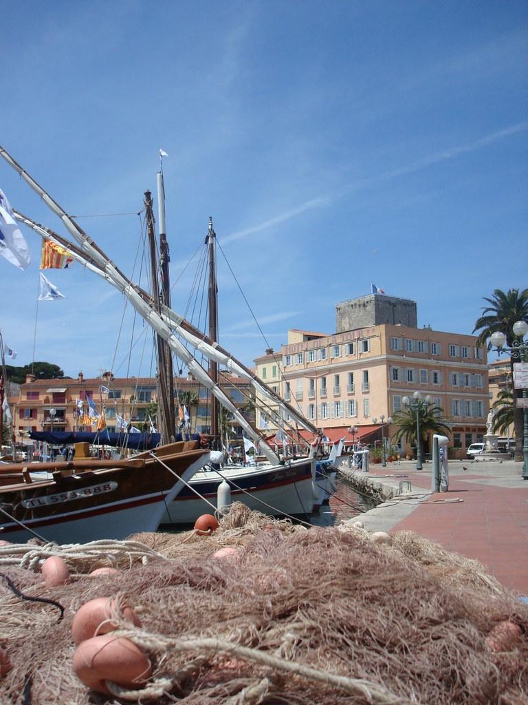 Hafen in Sanary-sur-Mer