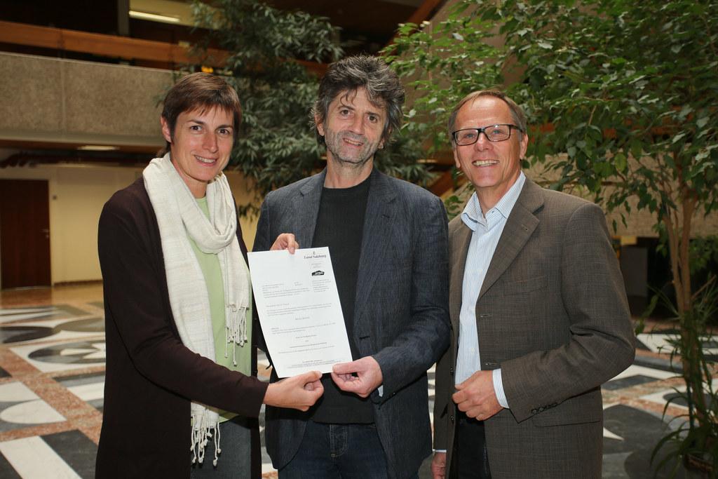 LH-Stv. Dr. Astrid Rössler, Dr. Wolfgang Wiener Landesumweltanwalt und Dr. Bernh..