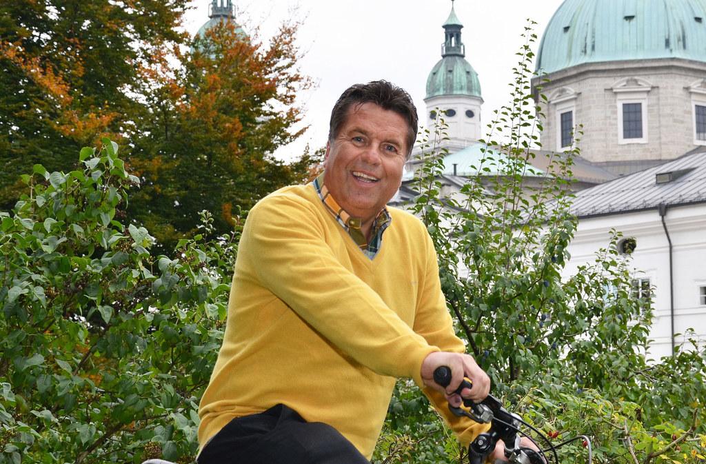 Radeln mit Landesrat Hans Mayr