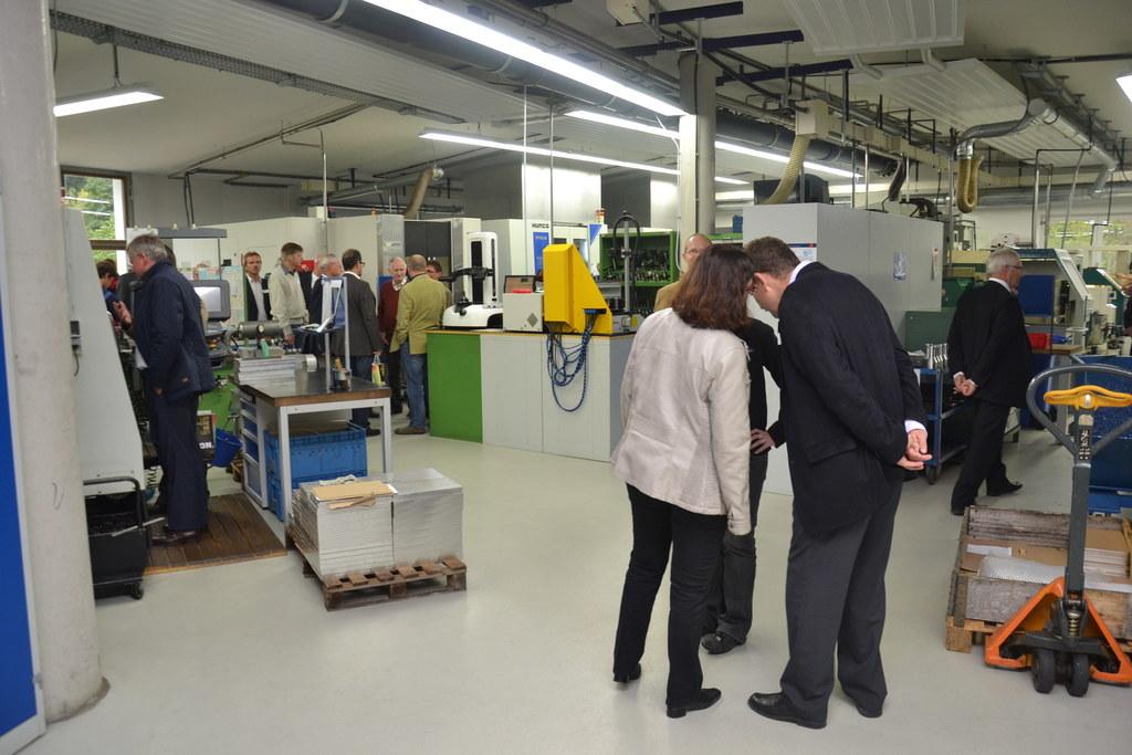 EuRegio Dialog in der Firma Plereiter CNC-Technik GmbH