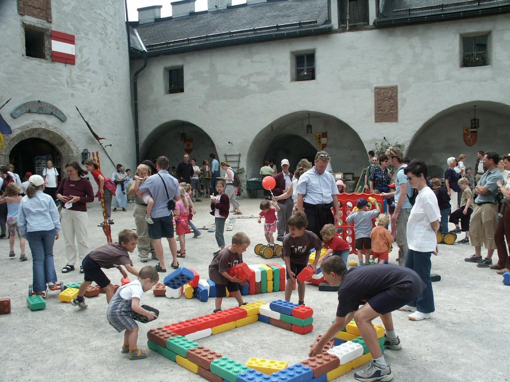Kinderfest auf der Erlebnisburg Hohenwerfen