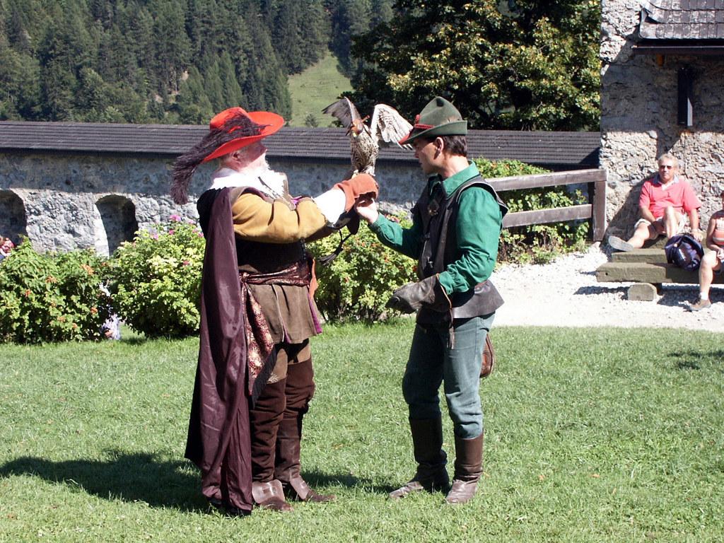 Fürsterzbischöfliche Jagdgesellschaft auf Hohenwerfen