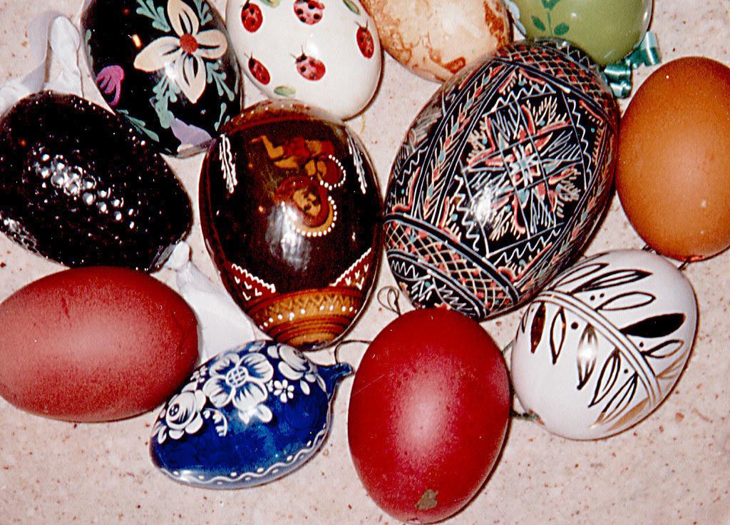Bunte Eier sind fixer Bestandteil der Osterbräuche