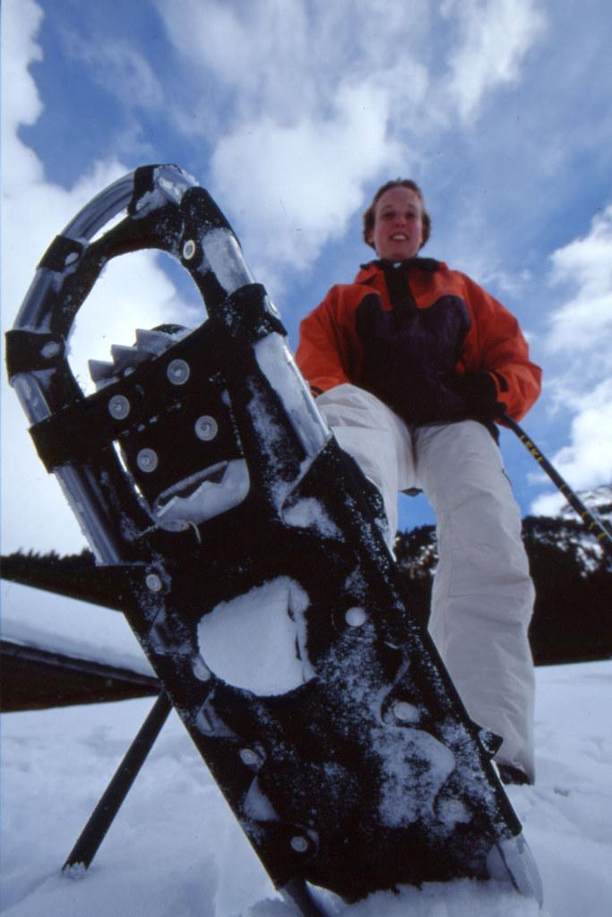Mit Schneeschuhen die Natur im Nationalpark erkunden