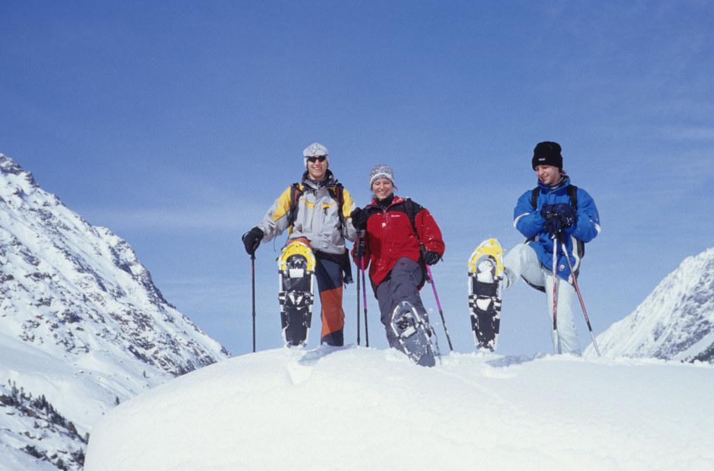 Den winterlichen Nationalpark mit Schneeschuhen erkunden