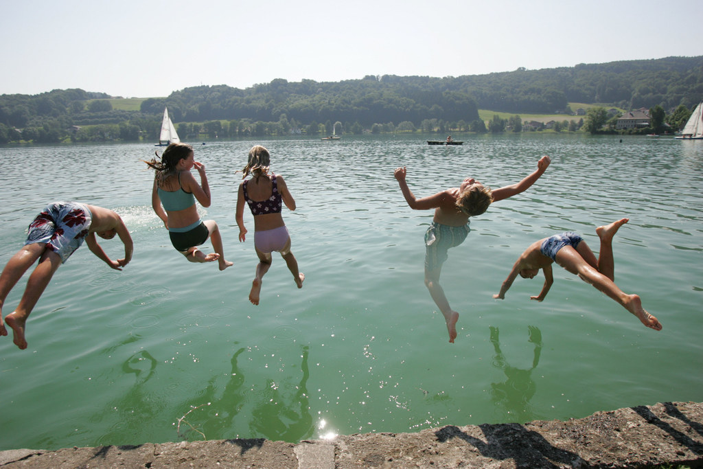 Wassertemperaturen der großen Salzburger Seen auf Mausklick