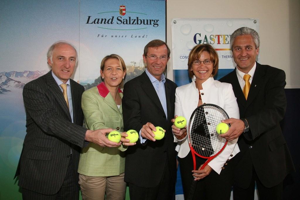 Weltklasse-Tennis Event für Bad Gastein