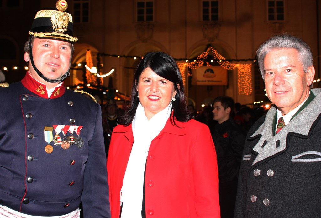Eröffnung des Salzburger Christkindlmarktes