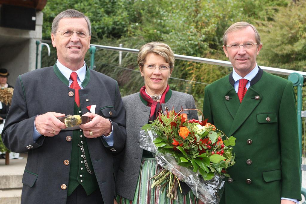 Verabschiedung von Bürgermeister Peter Fritzenwallner