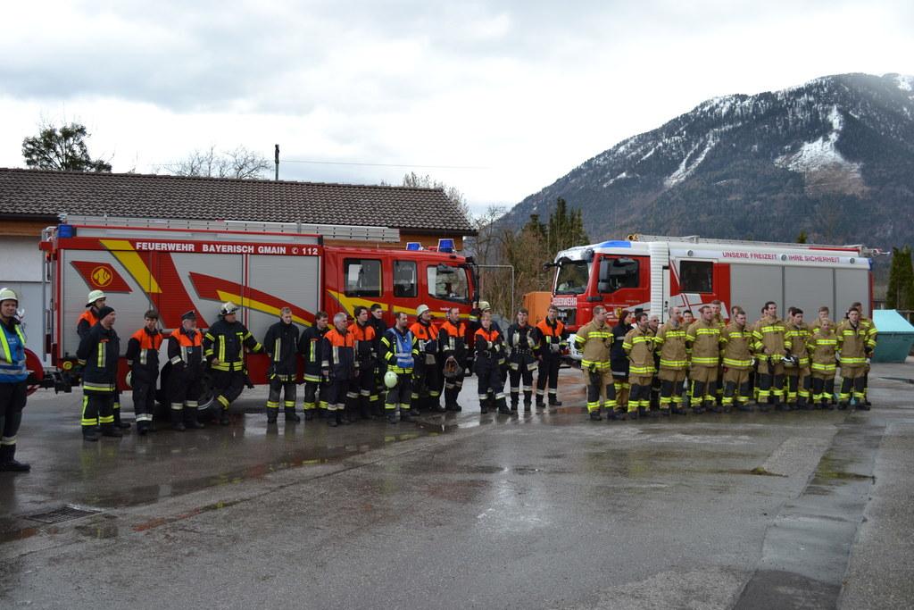 Gemeinsame Einsätze beiderseits der Grenze sind für die Feuerwehren aus Großgmai..