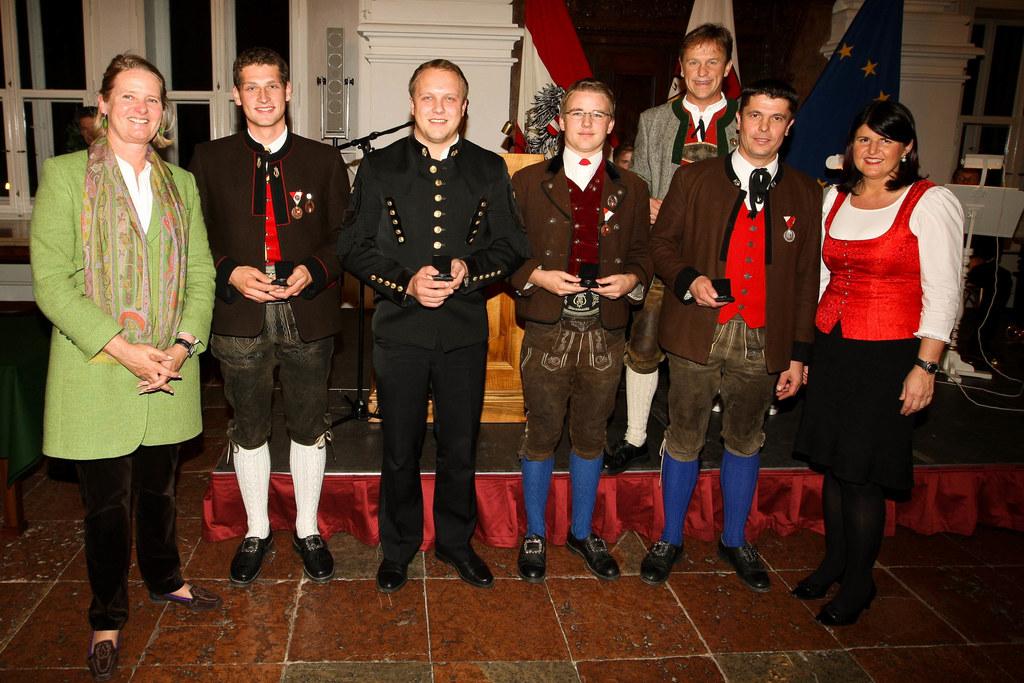 Ehrungsfestakt der Salzburger Volkskultur in der Residenz