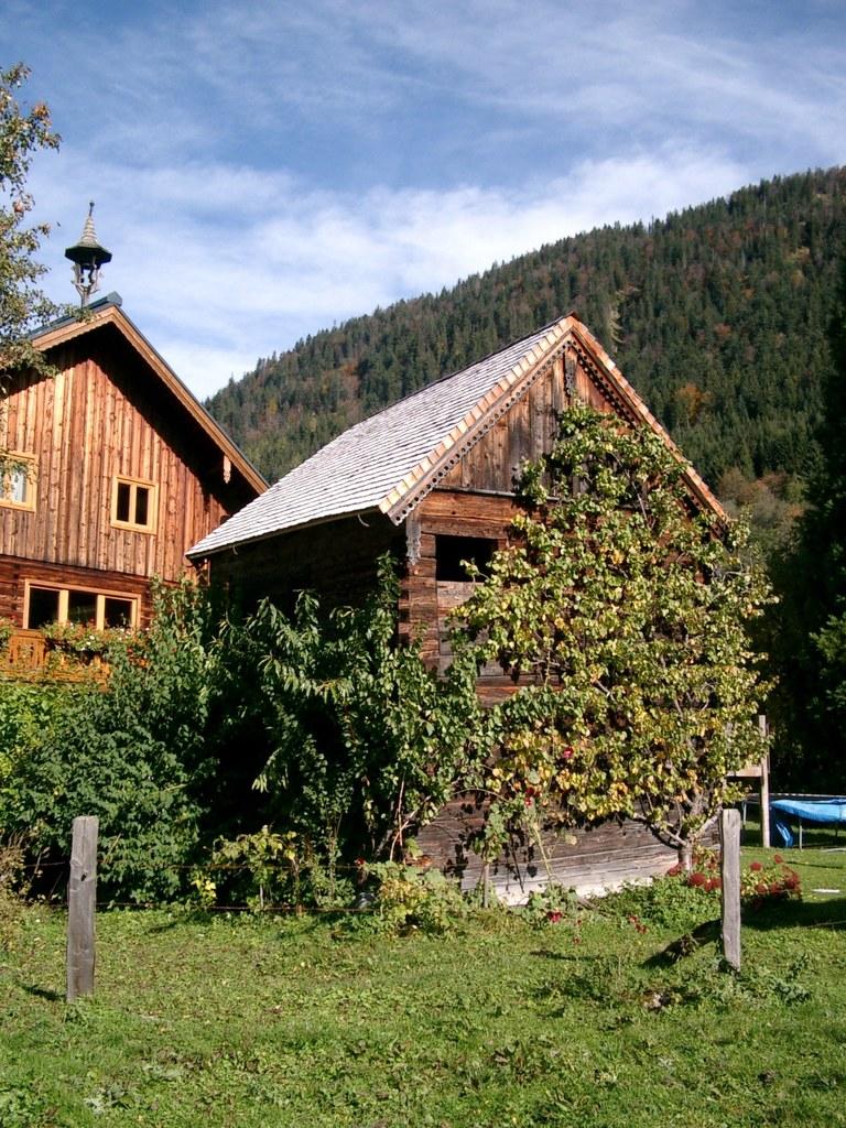 Getreidekasten des Vorderschefferbauern in der Gemeinde Annaberg