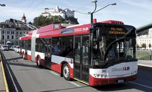 Oberleitungsbus/Trolleybus in Salzburg