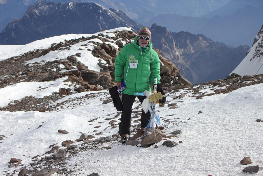 Der Henndorfer Johann Hofbauer auf dem Aconcagua, dem höchsten Berg Südamerikas