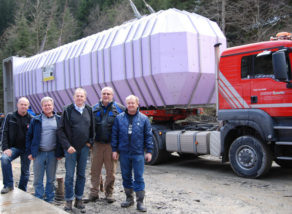Wasserhochbehälter stellt Versorgung in Saalbach sicher