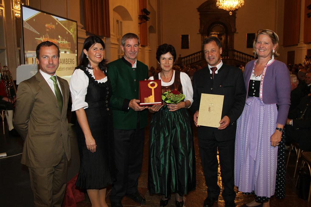 Festakt in der Salzburger Residenz