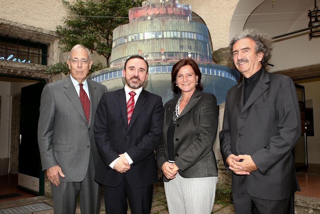 Festlicher Auftakt zu `40 Jahre Partnerschaft Salzburg - Litauen`