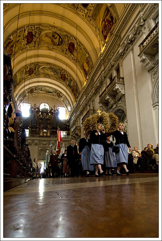 Erntedank im Dom zu Salzburg am Sonntag, 12. September