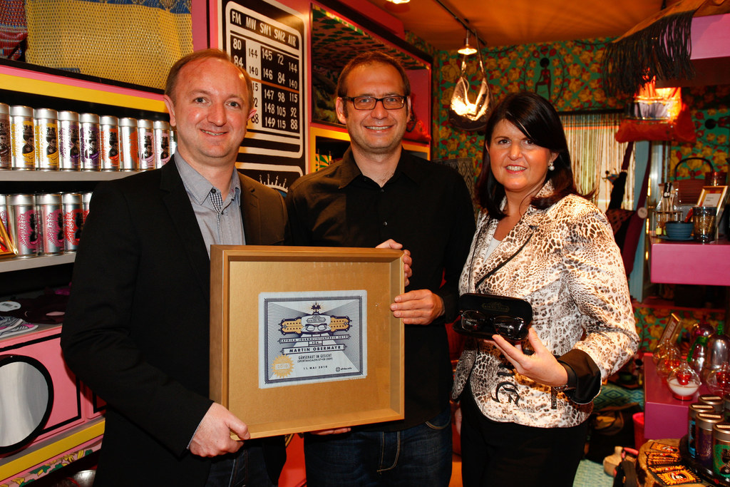 Afrika-Preis 2010 Verleihung im Afro Café in Salzburg