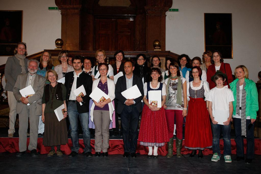 Festakt des Landesjugendsingens in der Salzburger Residenz