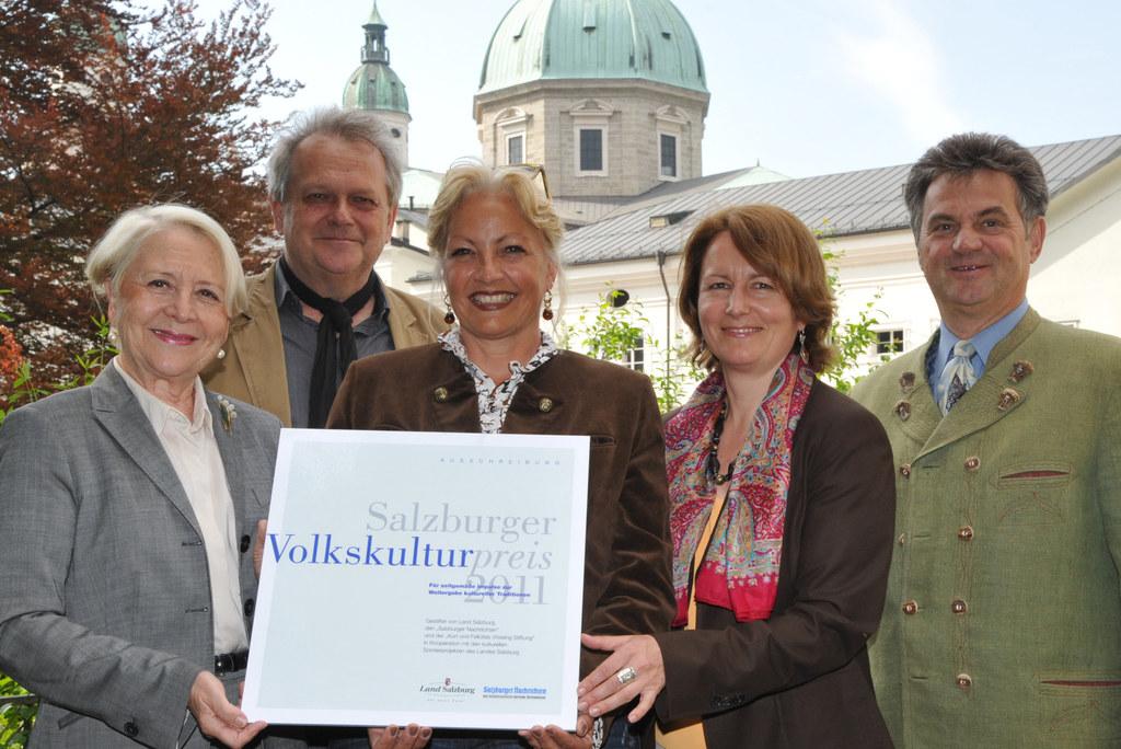 Salzburger Volkskulturpreis 2011