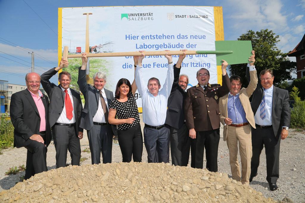 v.l. Christian Struber, Roland Wernik, Heinrich Schmidinger, LHF Mag.Gabi Burgst..