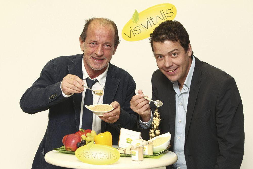 Geschäftsführer Norbert Fuchs und Florian Zehner (Leitung Marketing/Vertrieb).