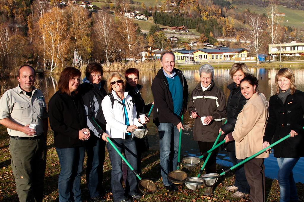 Lehrerinnen und Lehrer gestalten Trinkwasserschule mit