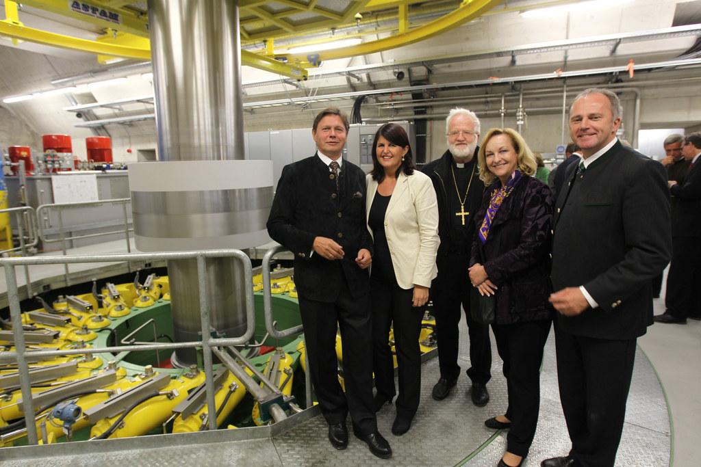 Eröffnung des Kraftwerks Limberg II