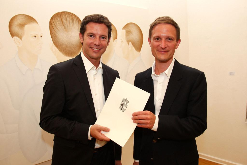 Überreichung des Großen Kunstpreis des Landes 2011