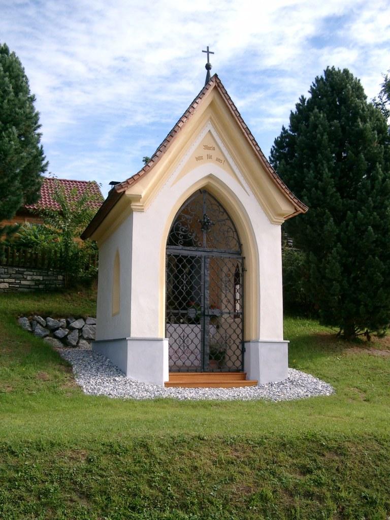 Weißes-Kreuz-Kapelle in Mariapfarr