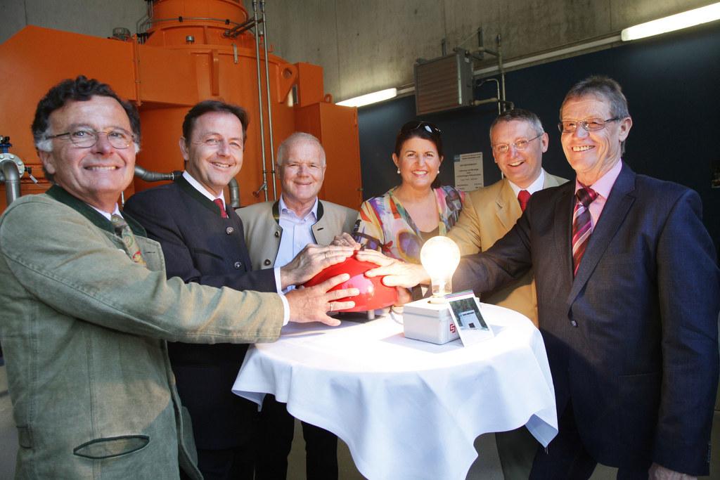 Eröffnung des Wasserkraftwerkes Dientenbach