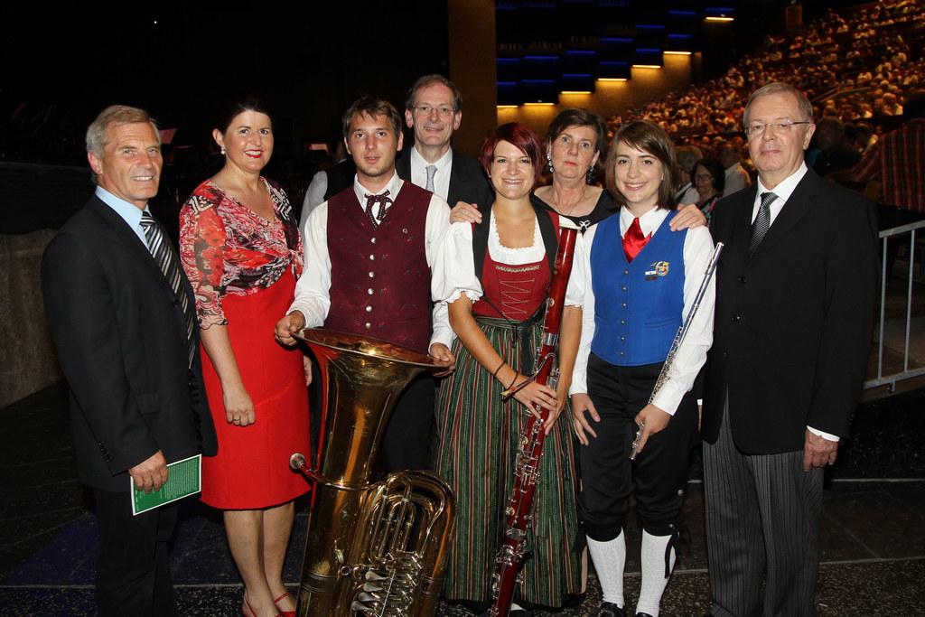 Blasmusikkonzert der Wiener Philharmoniker mit dem Blasmusiknachwuchs