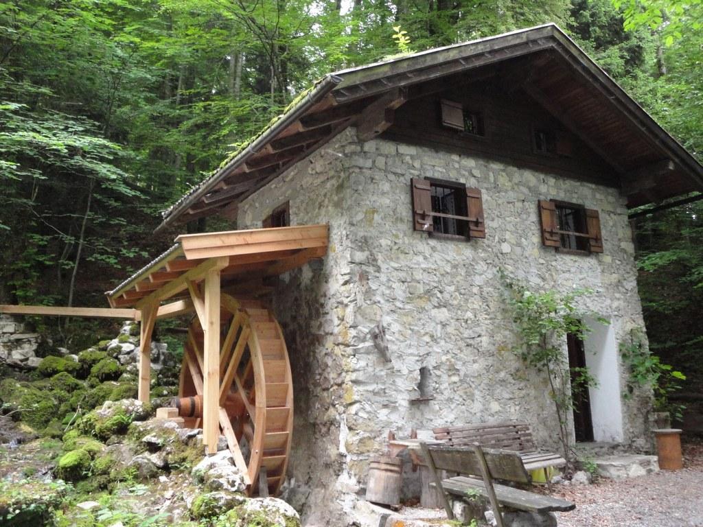 Webermühle in Kuchl/Unterlangen wieder betriebsbereit