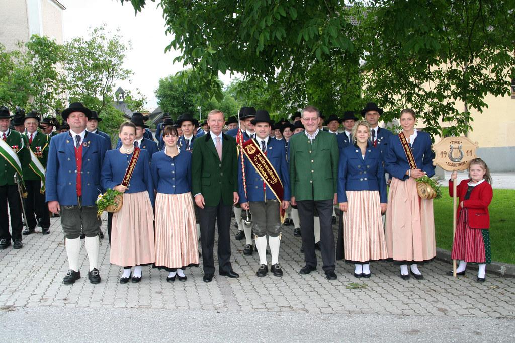 100-Jahre-Jubiläum der Trachtenmusikkapelle Elsbethen