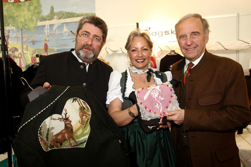 Landesrätin Dr. Tina Widmann bei der Eröffnung der Tracht & Country Frühjahr 201..