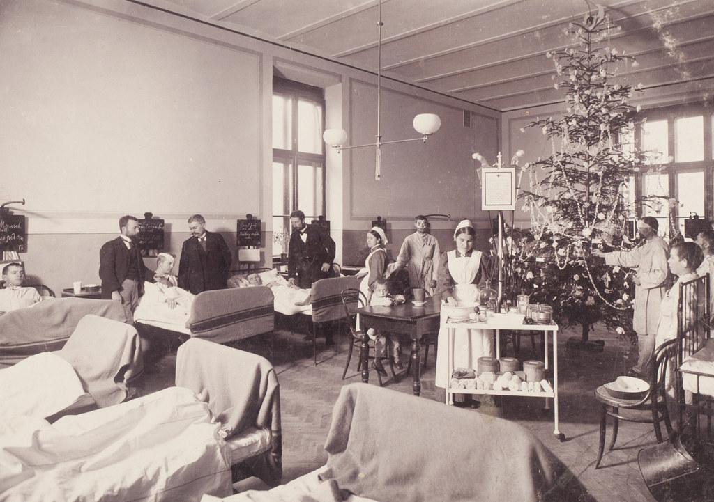 Krankenhausalltag im Schlesischen Krankenhaus um die vorletzte Jahrhundertwende...