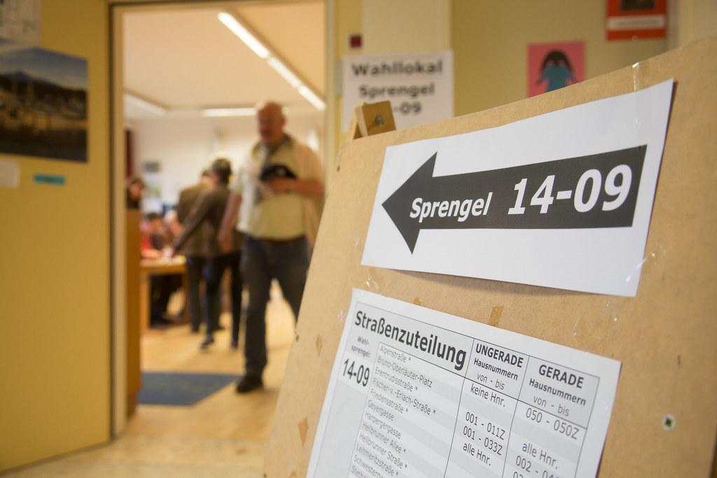 Insgesamt 534 Wahllokale stehen den Wählerinnen und Wählern in allen Bezirken zu..