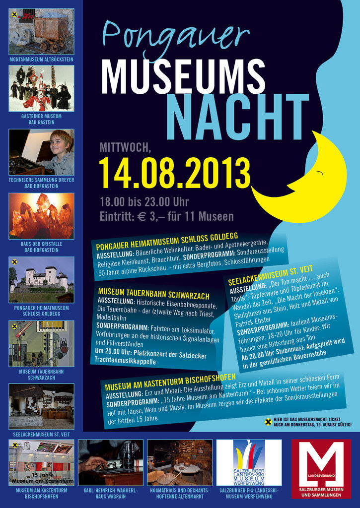 Pongauer Museumsnacht