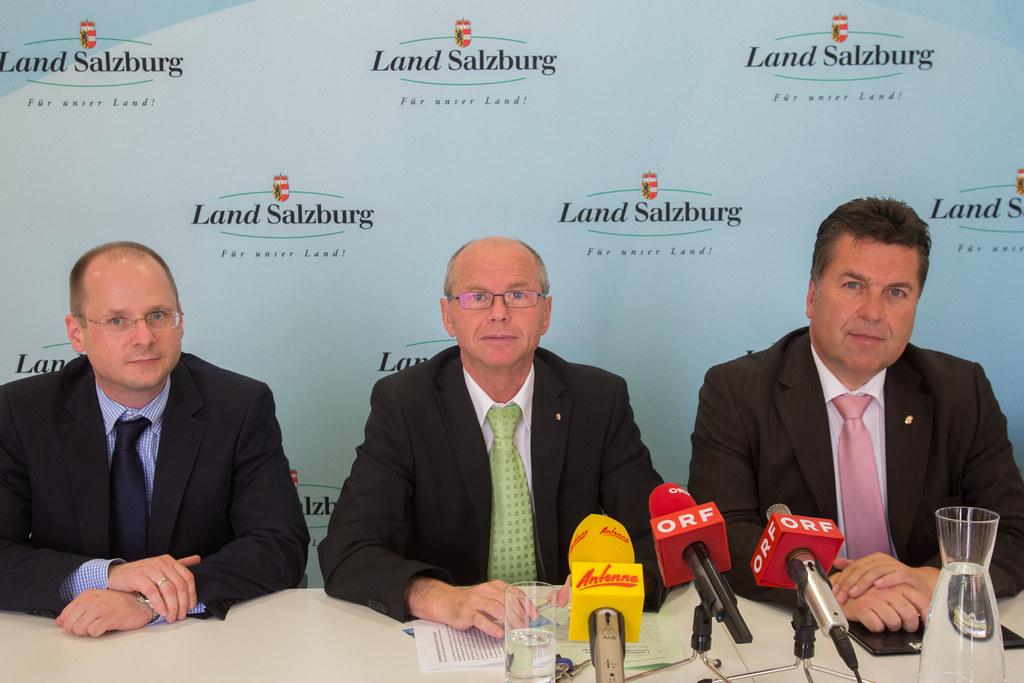 MMag. Dr. Thomas Walter, Landeshauptmann-Stellvertreter Mag. Dr. Christian Stöck..