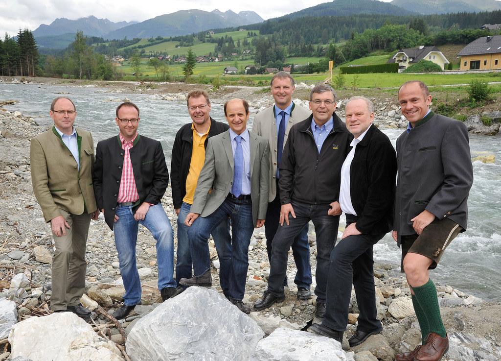 Hochwasserschutzprojekt an der Taurach in Tamsweg