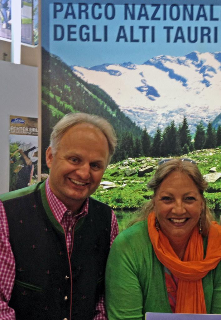 Mag. Christian Wörister und Landesrätin Dr. Tina Widmann