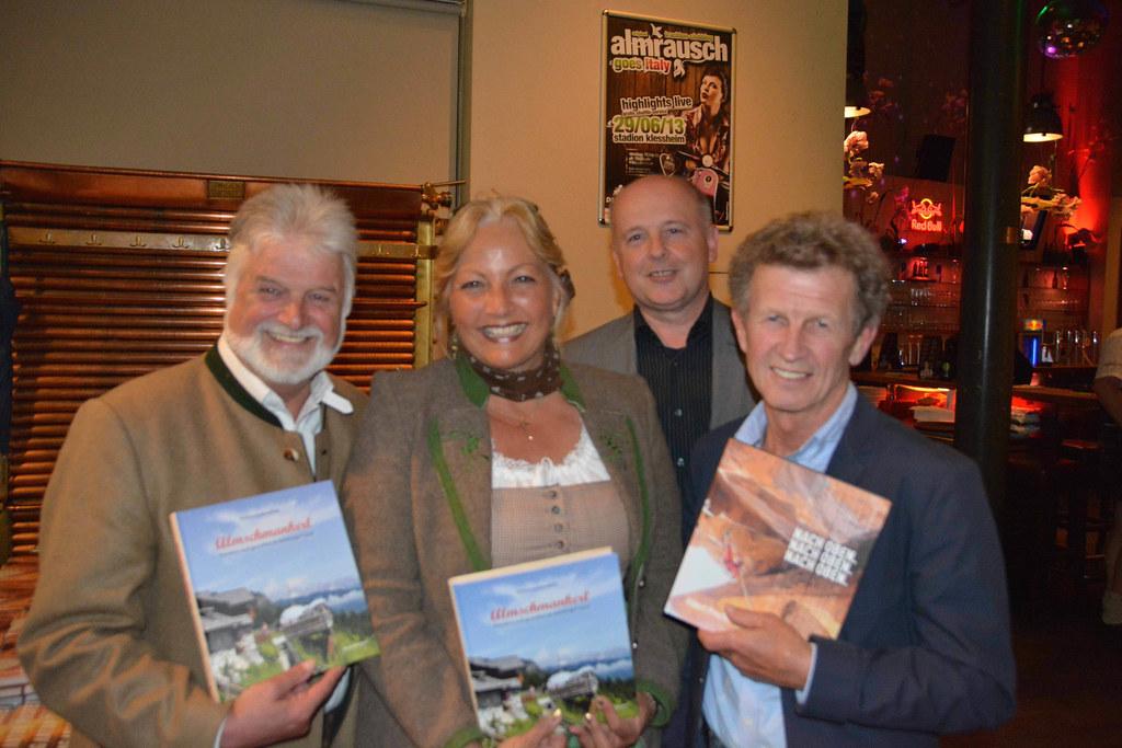 Herbert Gschwendtner, Landesrätin Dr. Tina Widmann, Gerald Klonner (Verlag Anton..