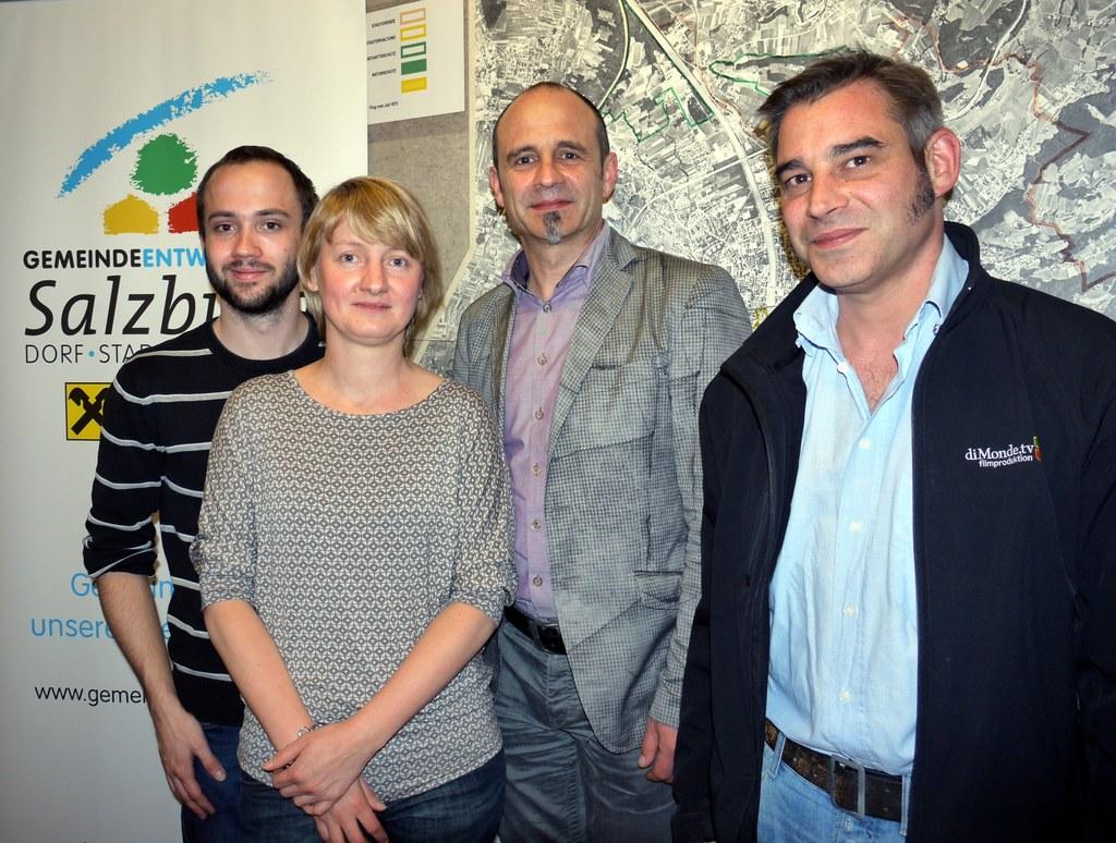 Studienassistent Andreas Eisl, Madeleine Koch Msc, Prof. Dr. Andreas Koch und Dr..