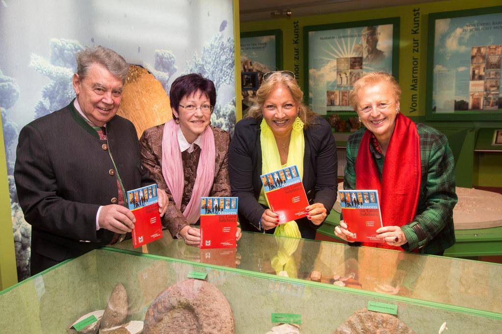 Alfred Huemer, Mag. Dagmar Bittricher, Landesrätin Dr. Tina Widmann und Dr. Moni..