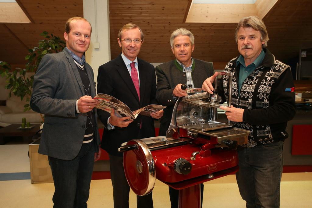 Peter Habersatter Geschäftsführender Gesellschafter, LH-Stv.Dr.  Wilfried Haslau..