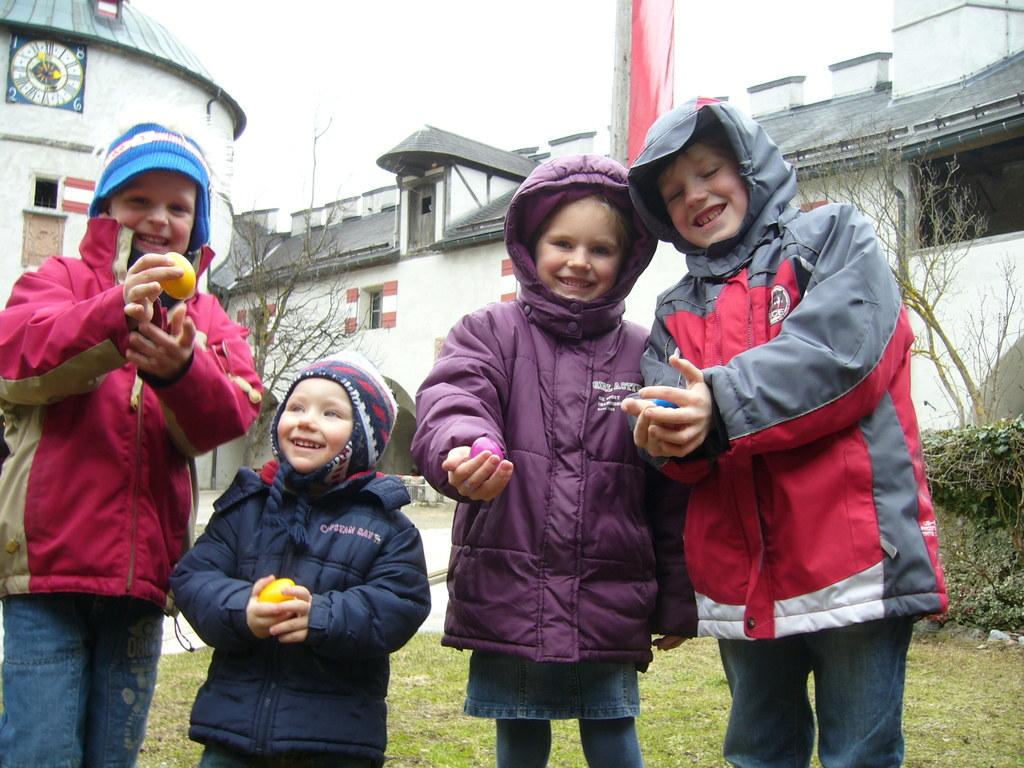 Ostereiersuche auf der Erlebnisburg Hohenwerfen